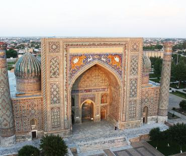Uzbekistan - the pearl of the sands